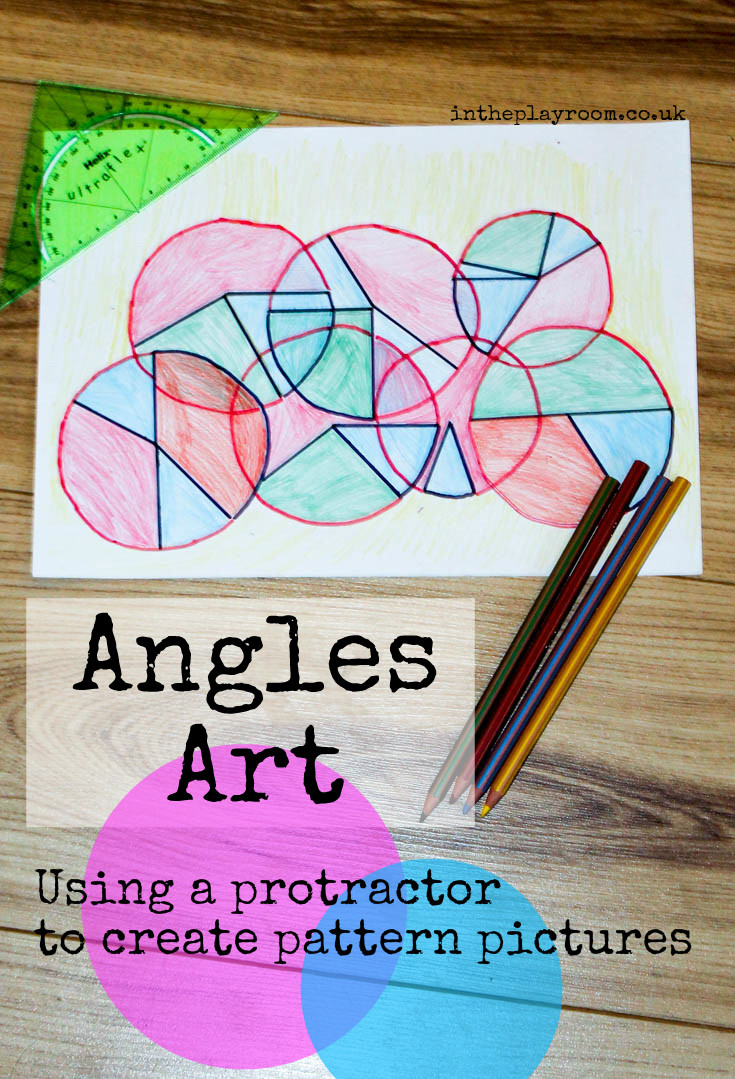 Line Art With Lines And Angles : Angles art a to z of stem in the playroom