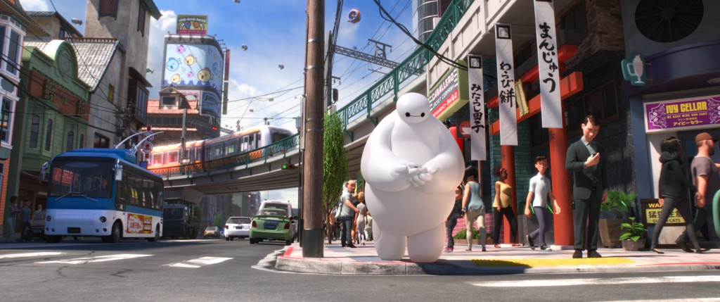 disney big hero 6 san fransokyo