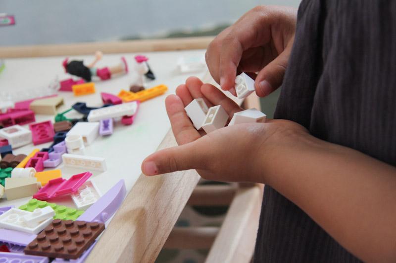 skills developed while building lego models