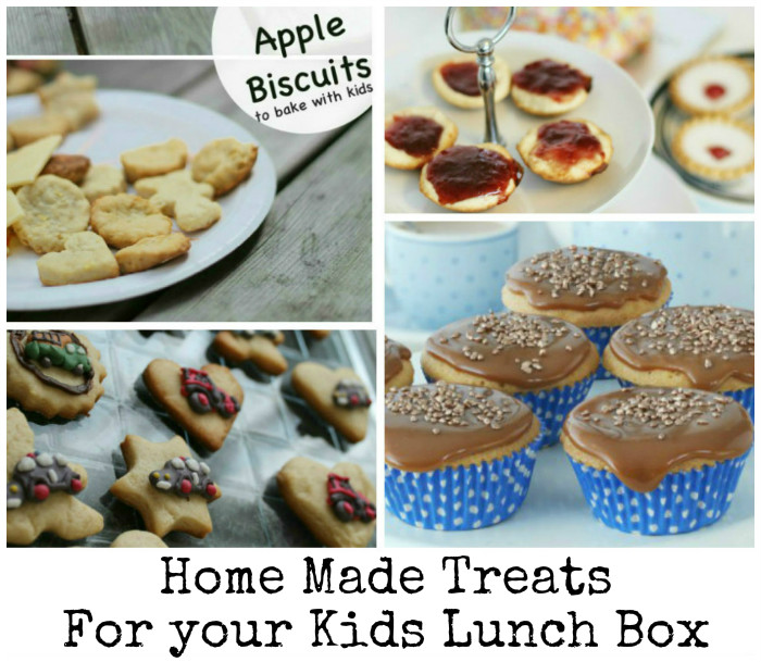 home made treats for your child's lunch box