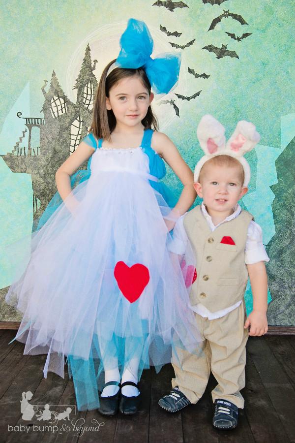 Alice in wonderland world book day costume idea