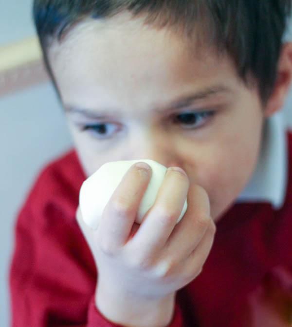 scented sensory playdough