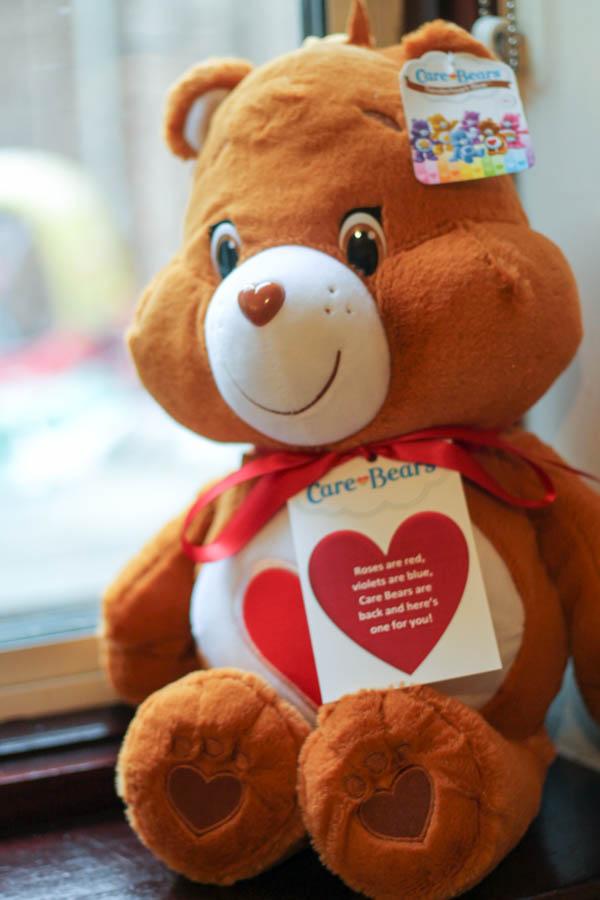 tenderheart carebear large plush from vivid toys