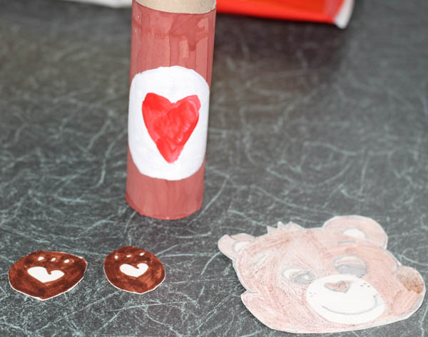 how to make a cardboard tube tenderheart care bear