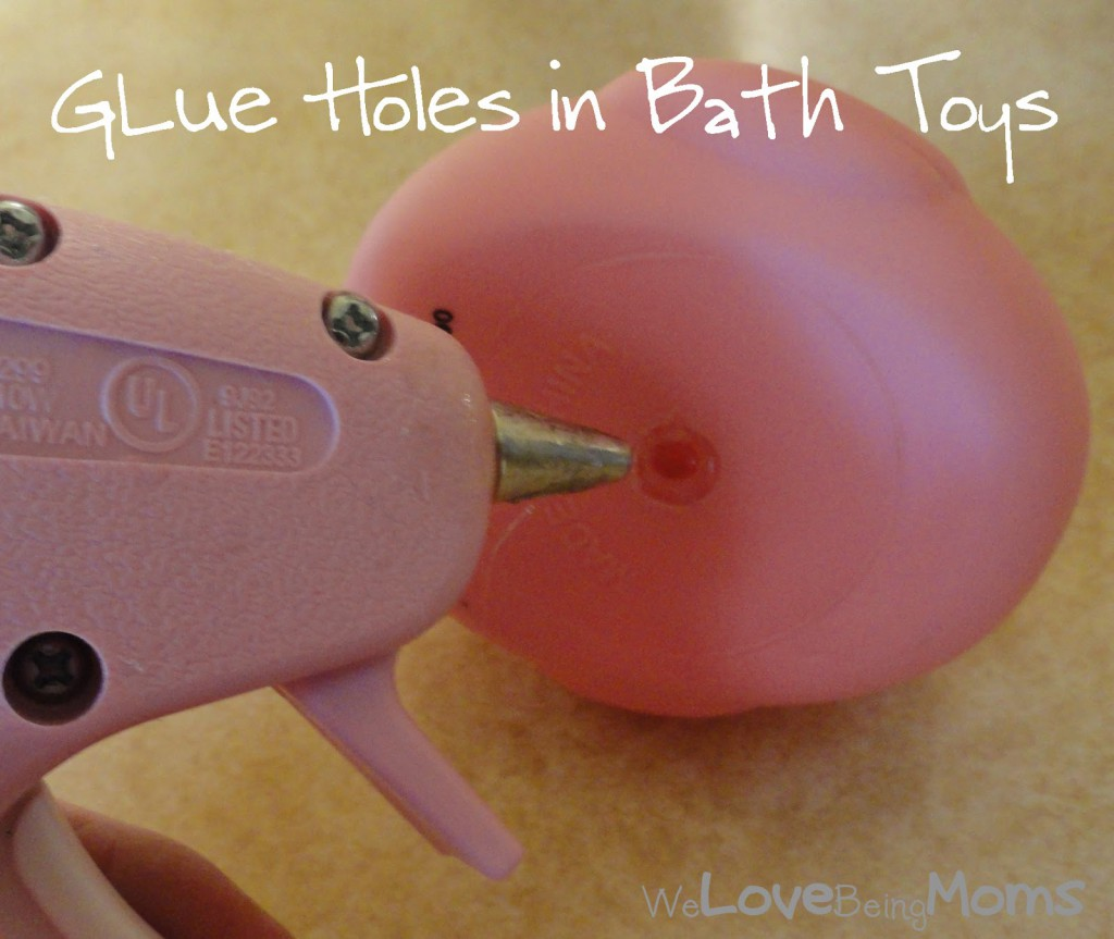 glue bath toys life hack