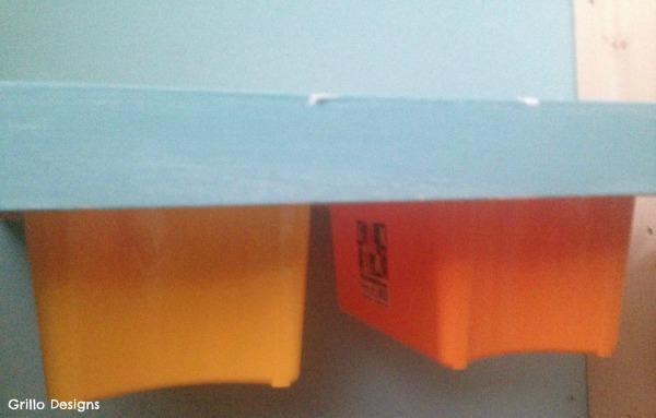 boxes into the diy sensory table