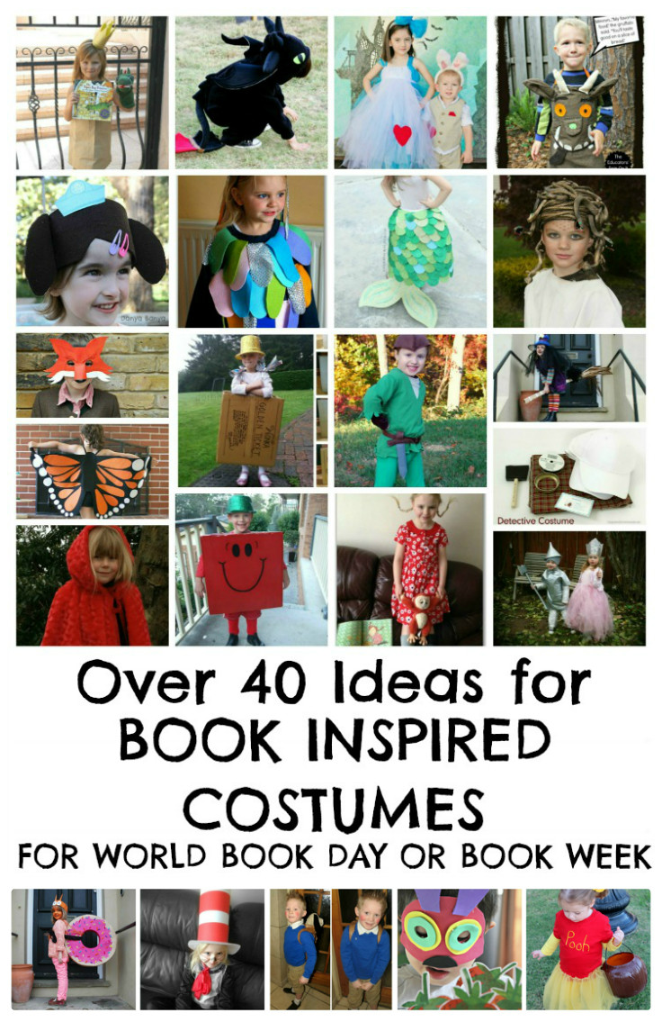 book themed costume ideas for Halloween