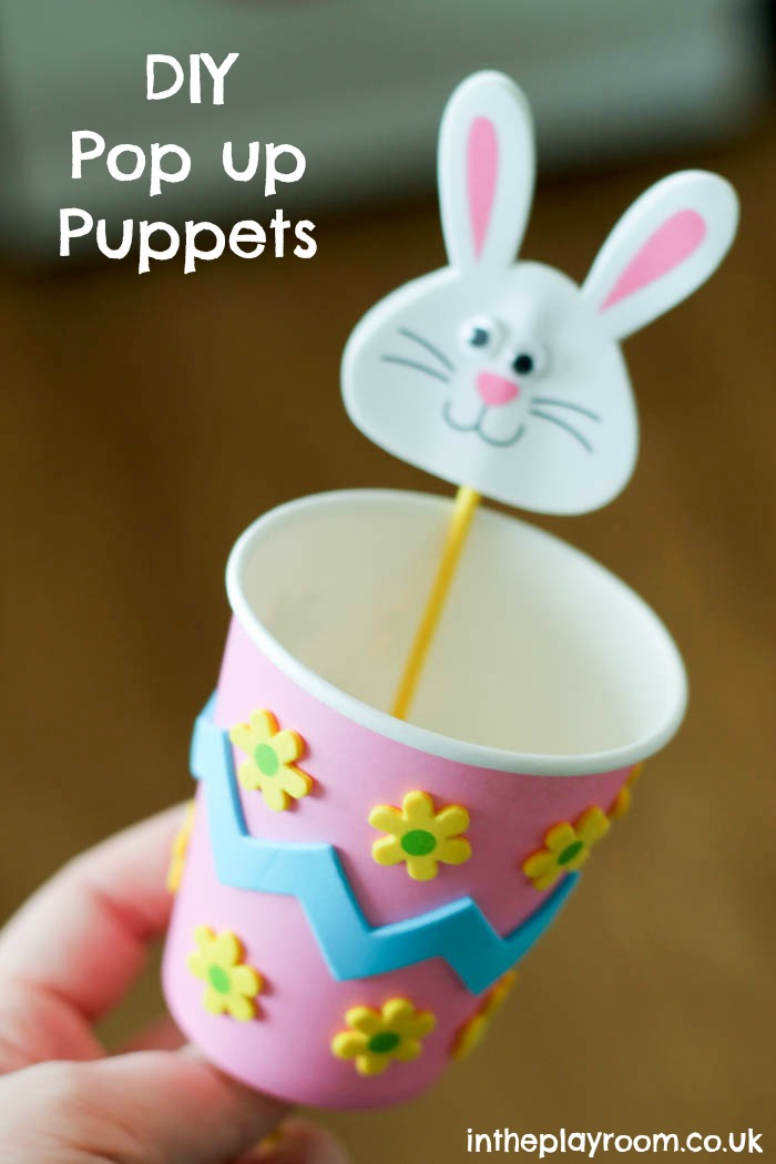 pop up easter bunny craft
