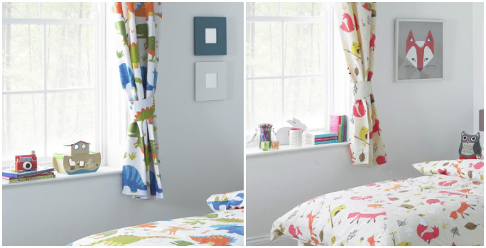 samantha george bedding and curtains sets for children's bedrooms