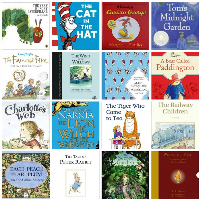 50 books every child should read before 16