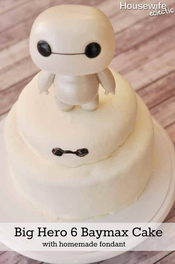 Baymax Big Hero 6 Cake