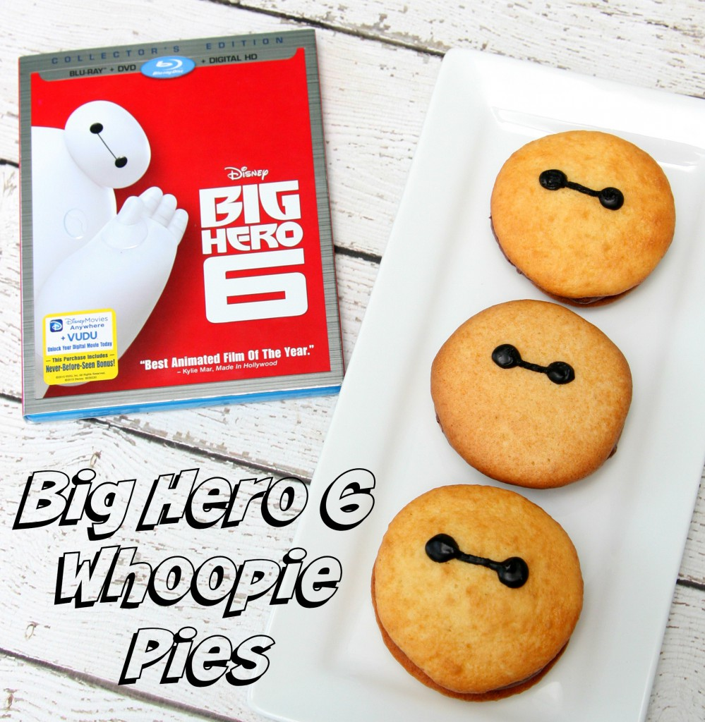Big Hero 6 Whoopie Pies