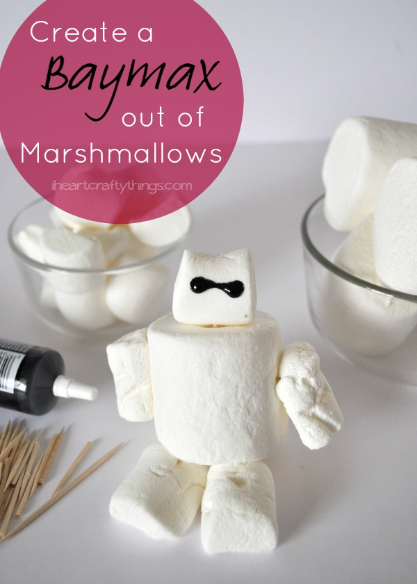 How to make a Marshmallow Baymax