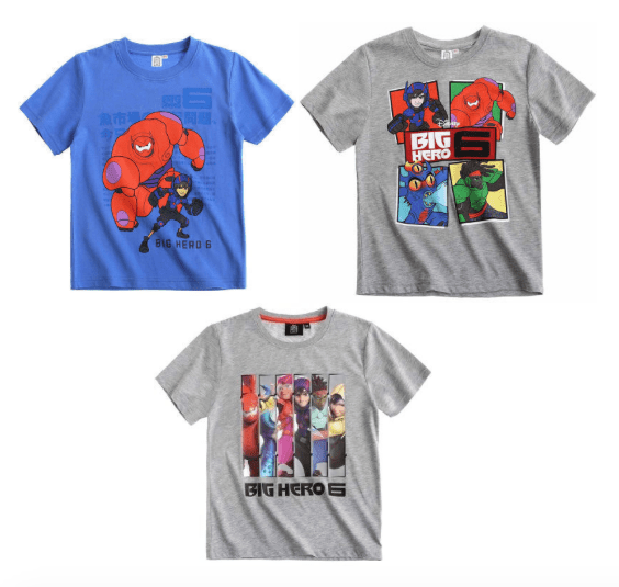 Big Hero 6 boys t shirts from Lamaloli