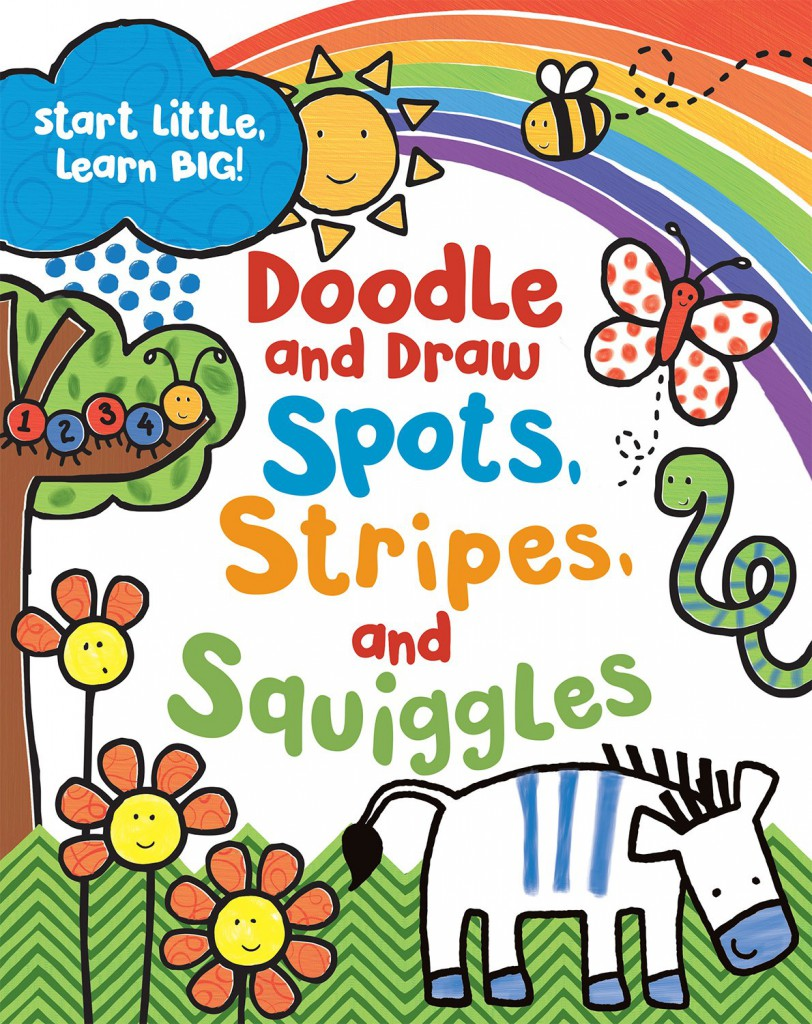 Doodle and draw, spots, stripes and squiggles