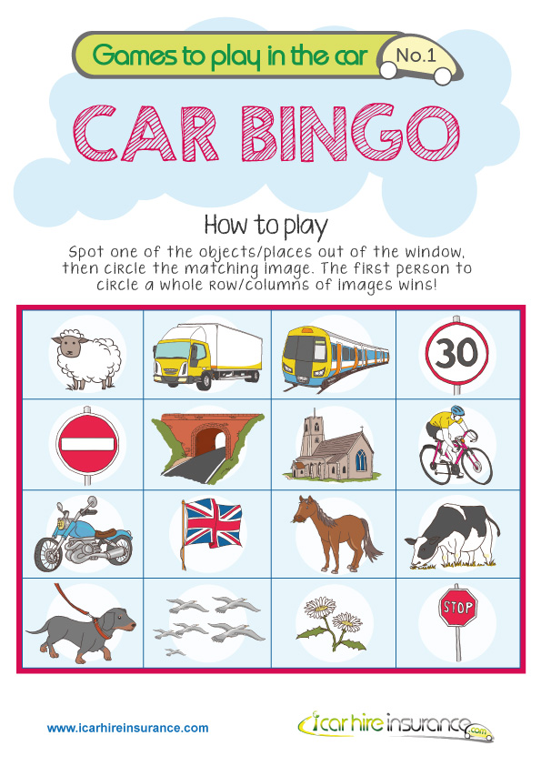 Car Journey Games For Toddlers