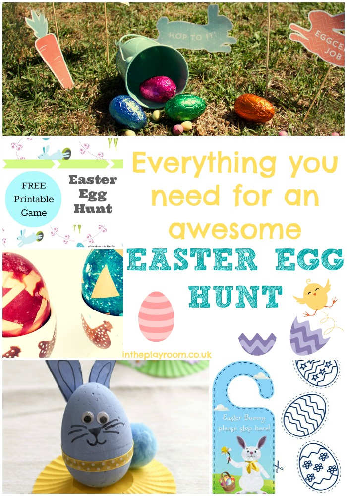 Everything you need for an awesome Easter egg hunt. Free printables, and activity ideas
