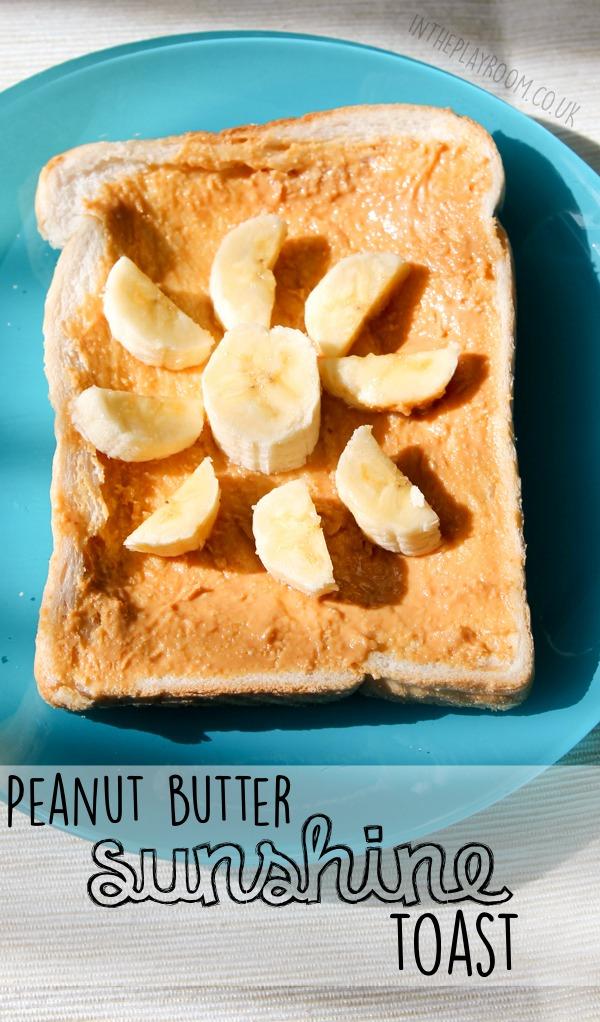 peanut butter sunshine toast