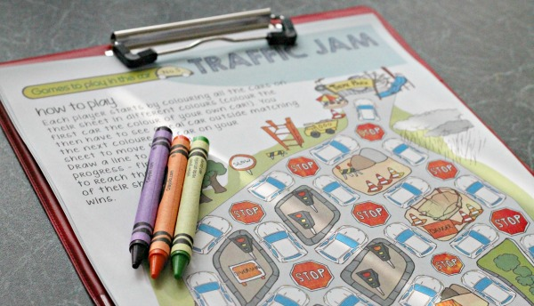 travel printables games to keep kids entertained in the car, on long journeys or a road trip