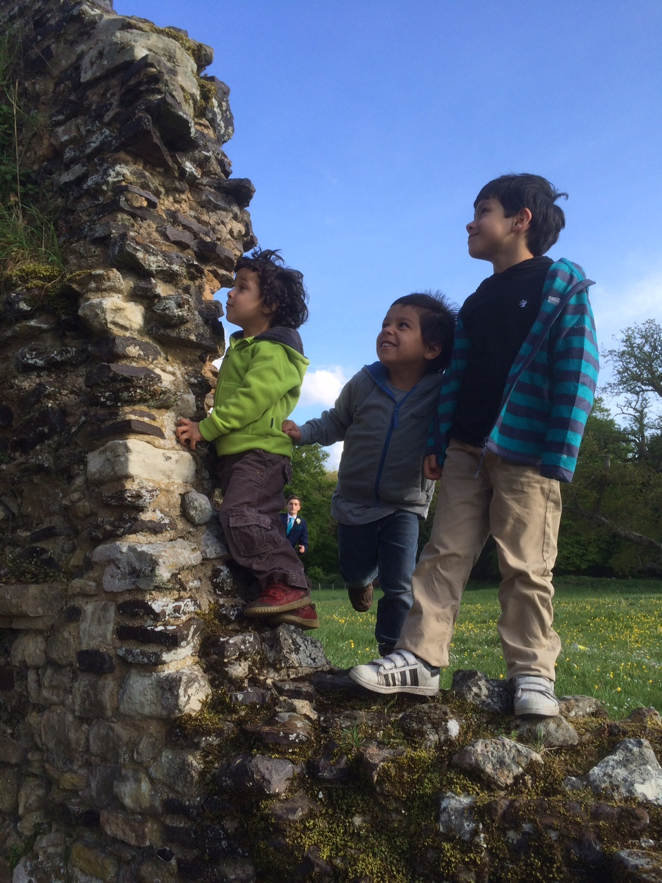 waverley abbey ruins and trespass outdoor clothing