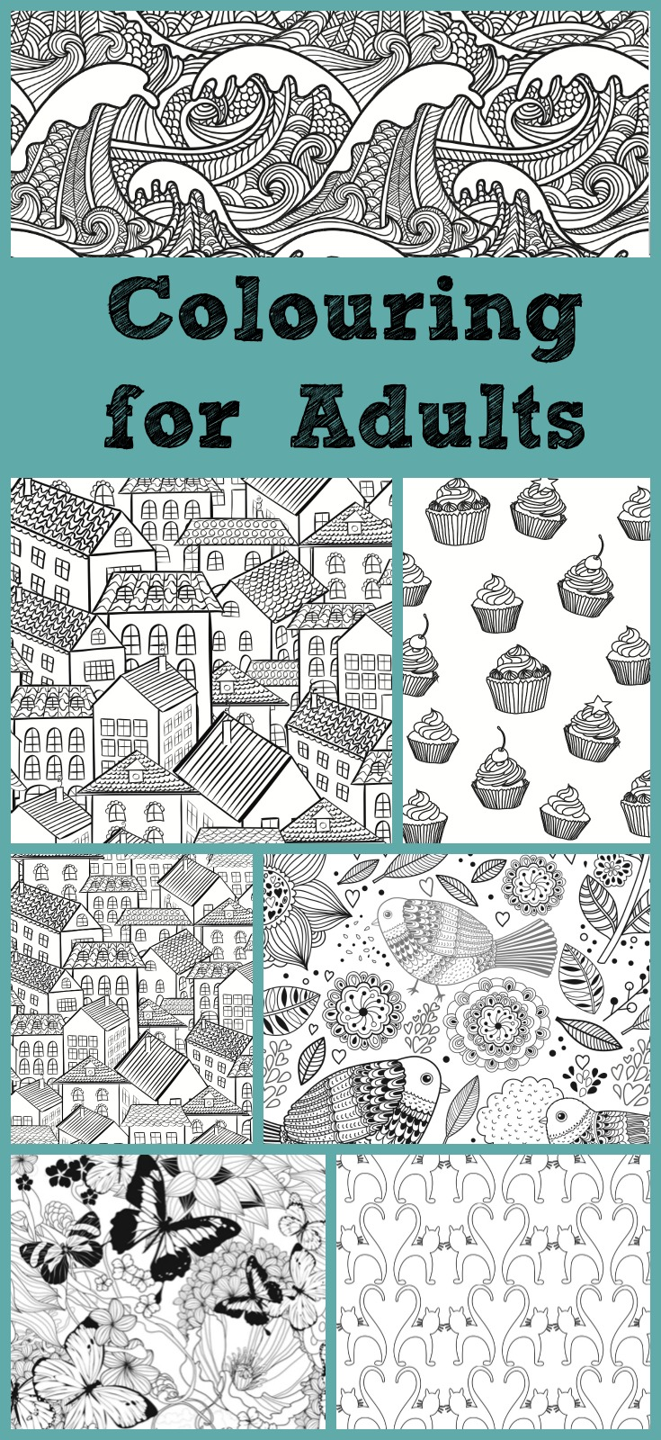 Colouring for adults. Grown up colouring pages are the new craze for stress relief. Find out some of the best grown up colouring books to buy