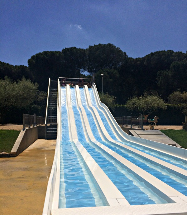 camping cypsela water slide