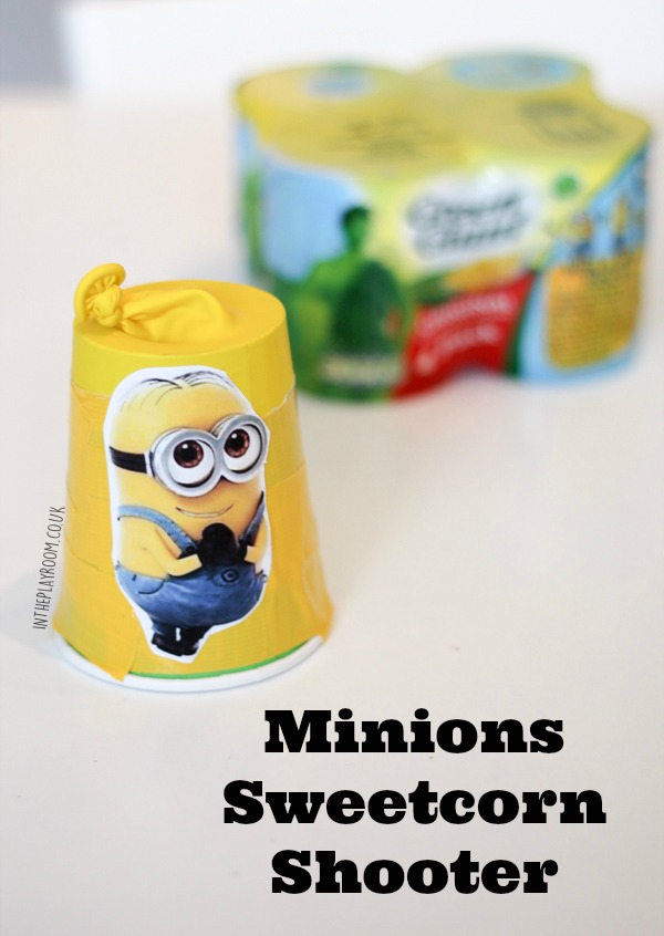 How to make a minions sweetcorn shooter