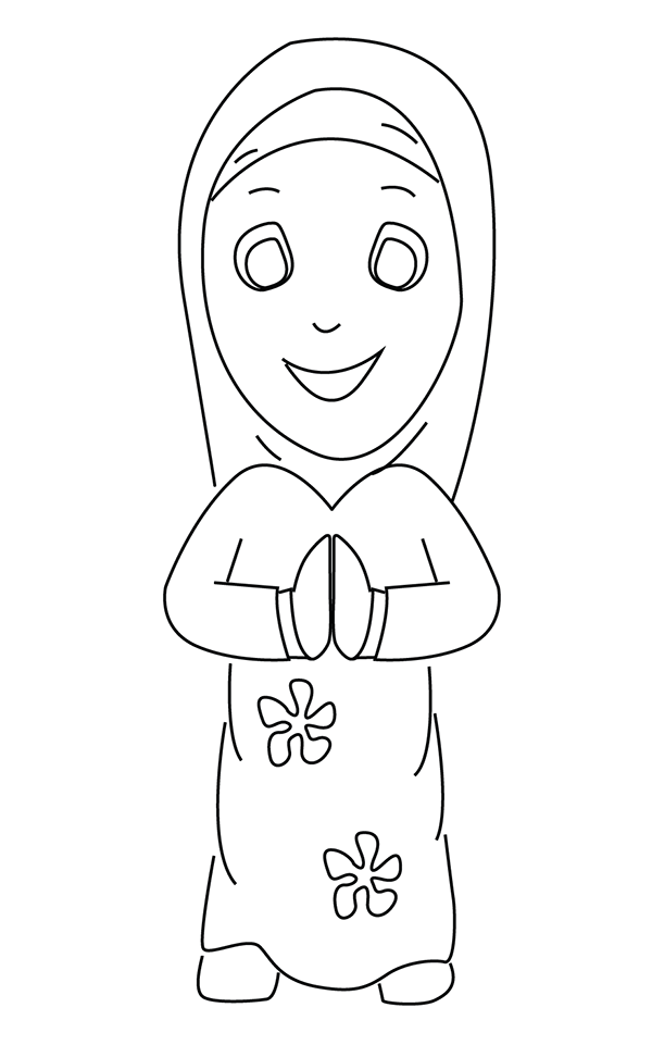 Ramadan Coloring Pages For Kids | Islamic kids activities, Islam ... | 961x600