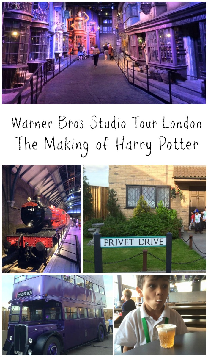 Warner bros studio tour London. The making of harry potter