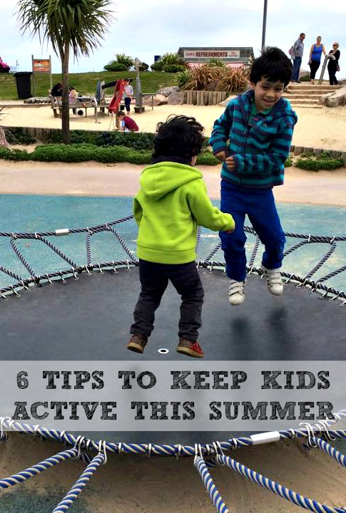 6 tips for keeping kids active this summer