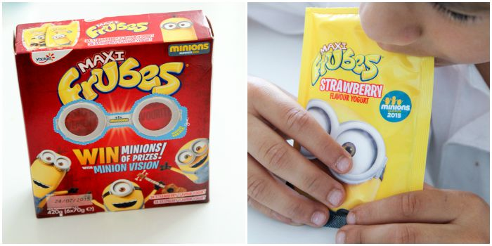 Minions frubes simple idea for a minions snack