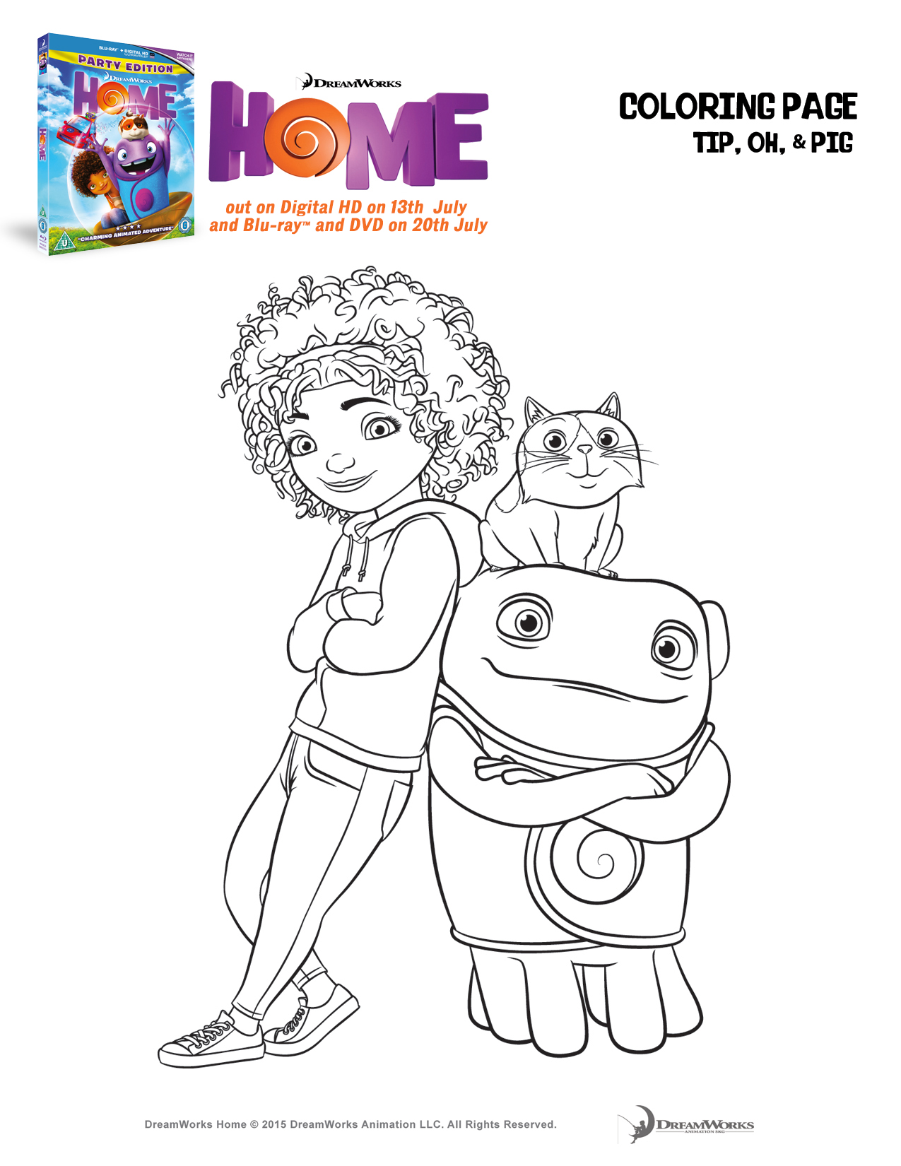 Home Printables Activity Sheets