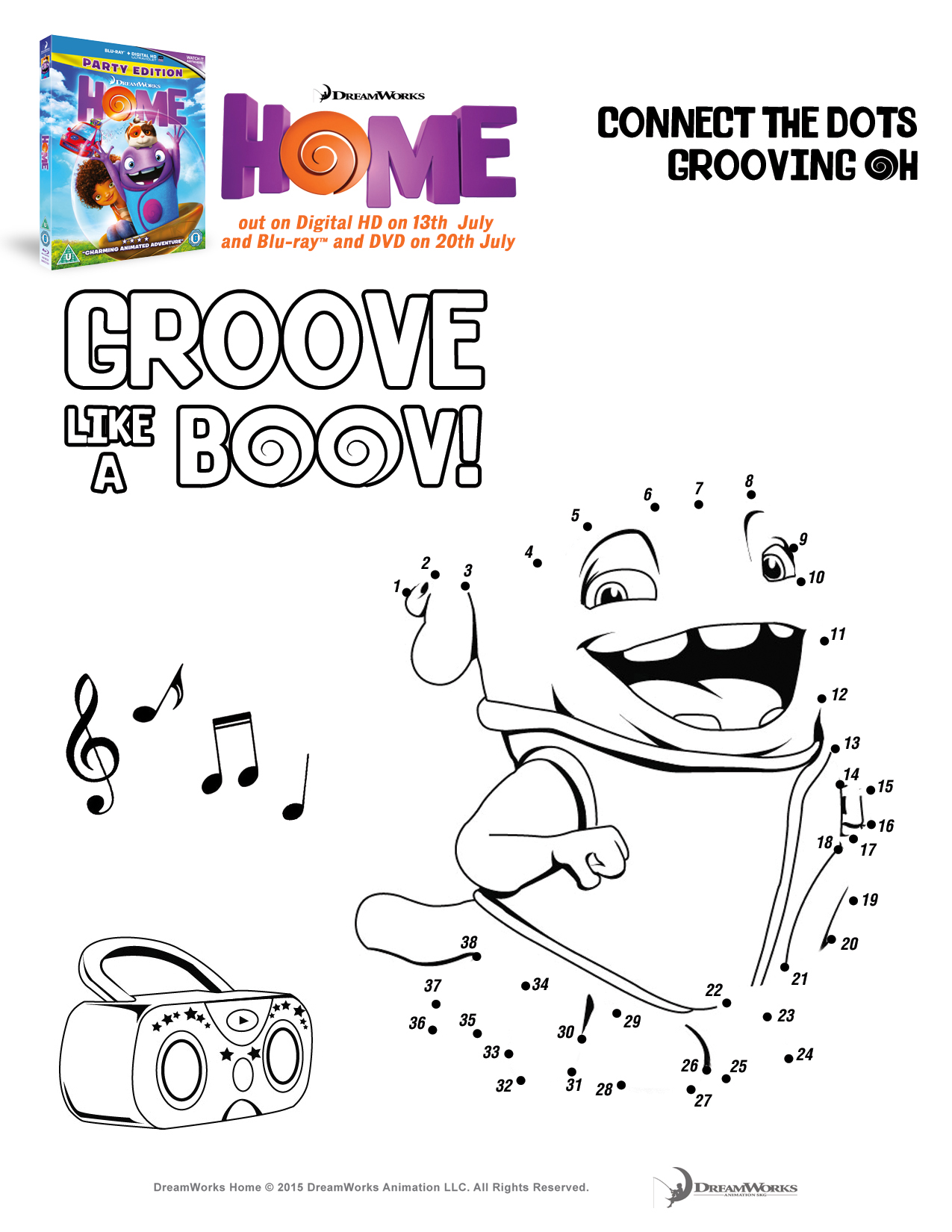 boov coloring pages - photo#18