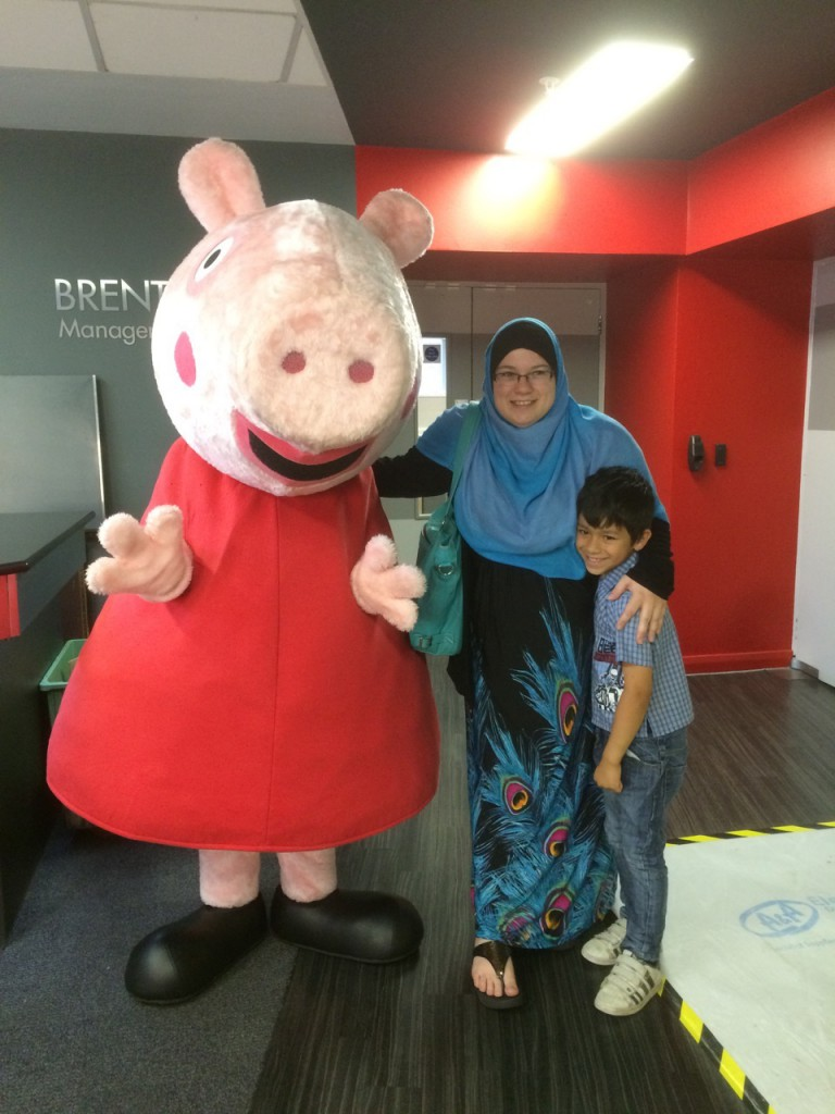 Peppa Pig at Brent Cross