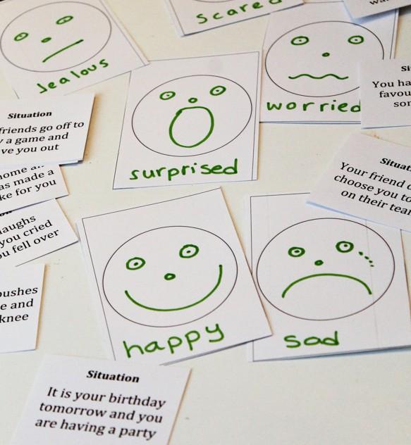 identifying emotions game