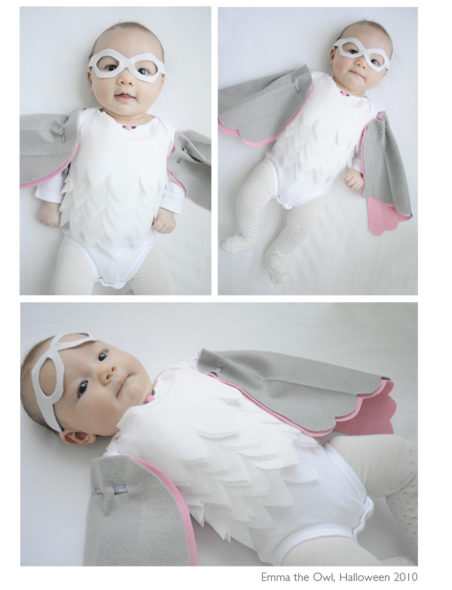 Baby owl halloween costume from Life Flix