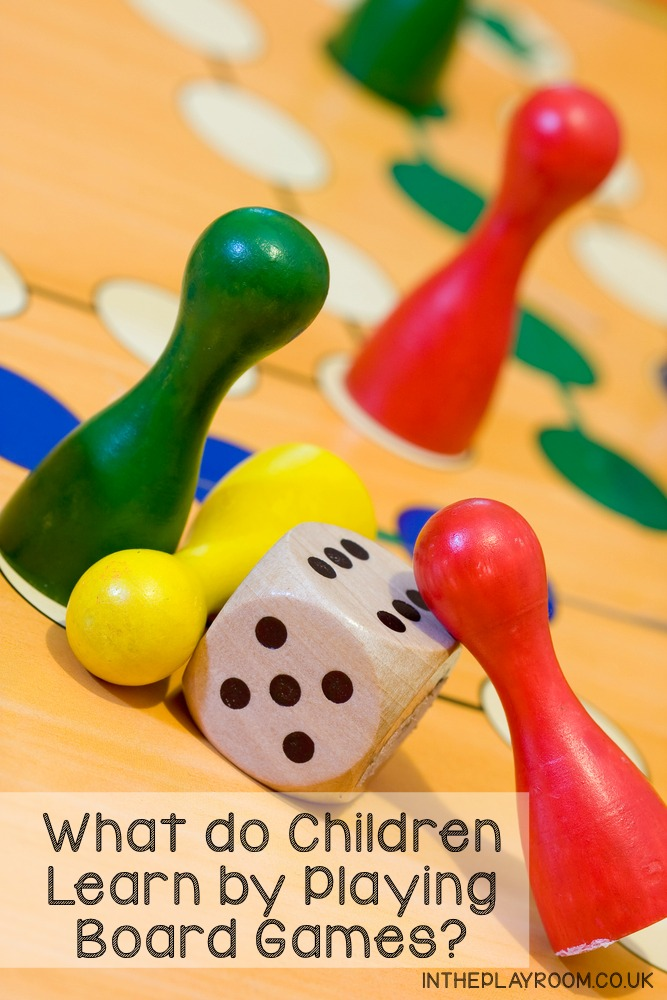 What do children learn by playing board games? This useful list walks you through some of the key skills and benefits - good to know!