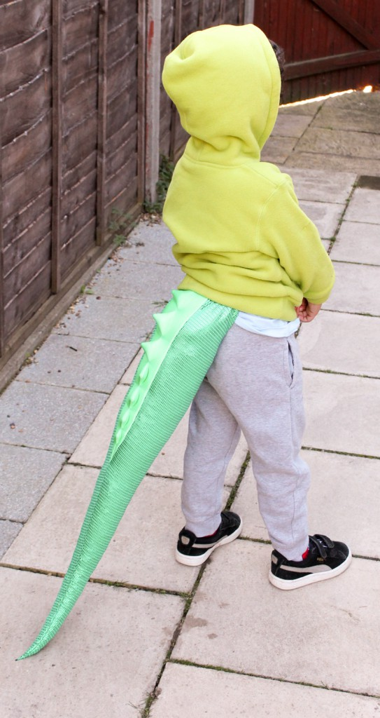 TellTails sparkly dinosaur costume for kids. Great for Halloween or pretend play