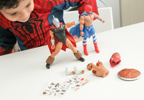 WWE Create a superstar range figures