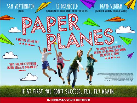 Paper planes movie UK poster