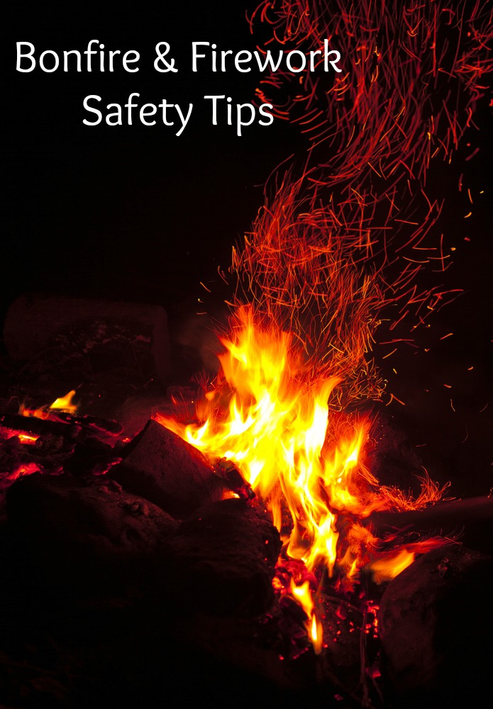 Bonfire and firework safety tips for families