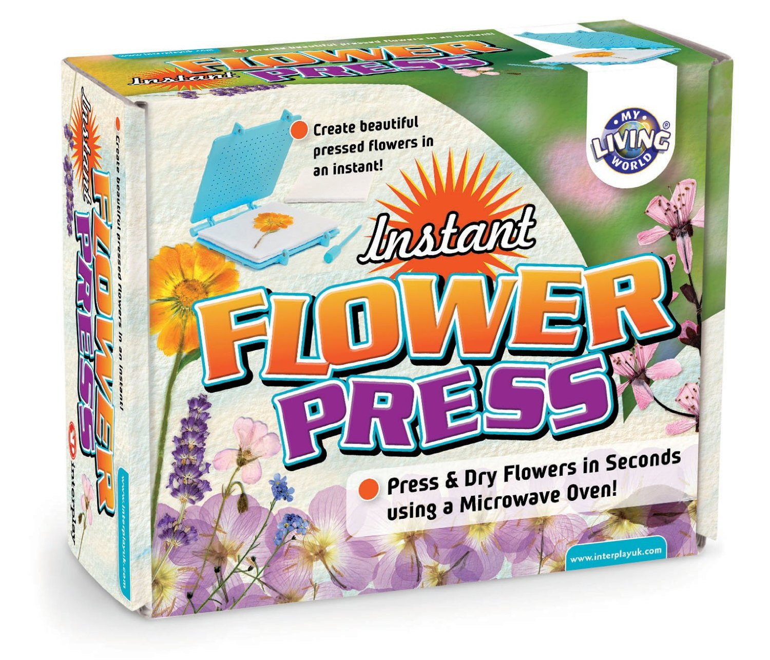Interplay flower press