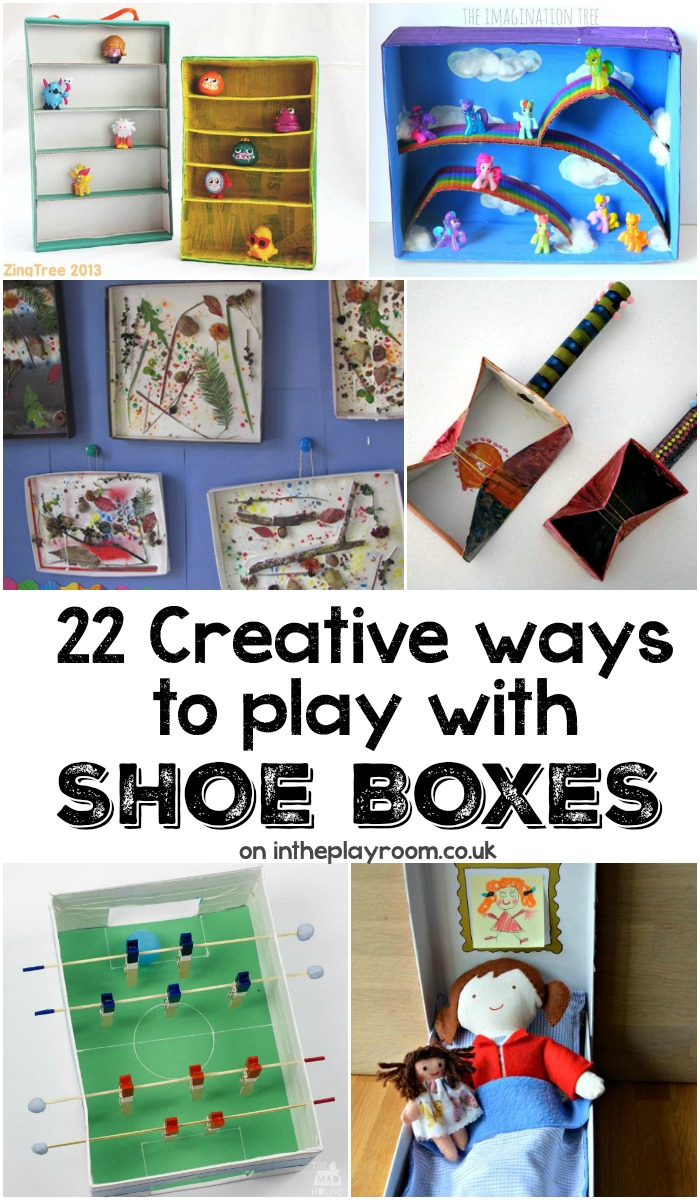 Kids Crafts Shoe Box Ideas