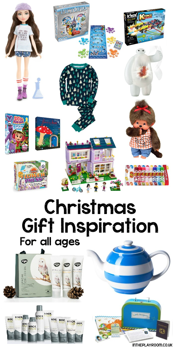 Christmas gift ideas and inspiration for all ages. Kids toys and games, non toy gifts, subscription boxes, and gift ideas for grown ups
