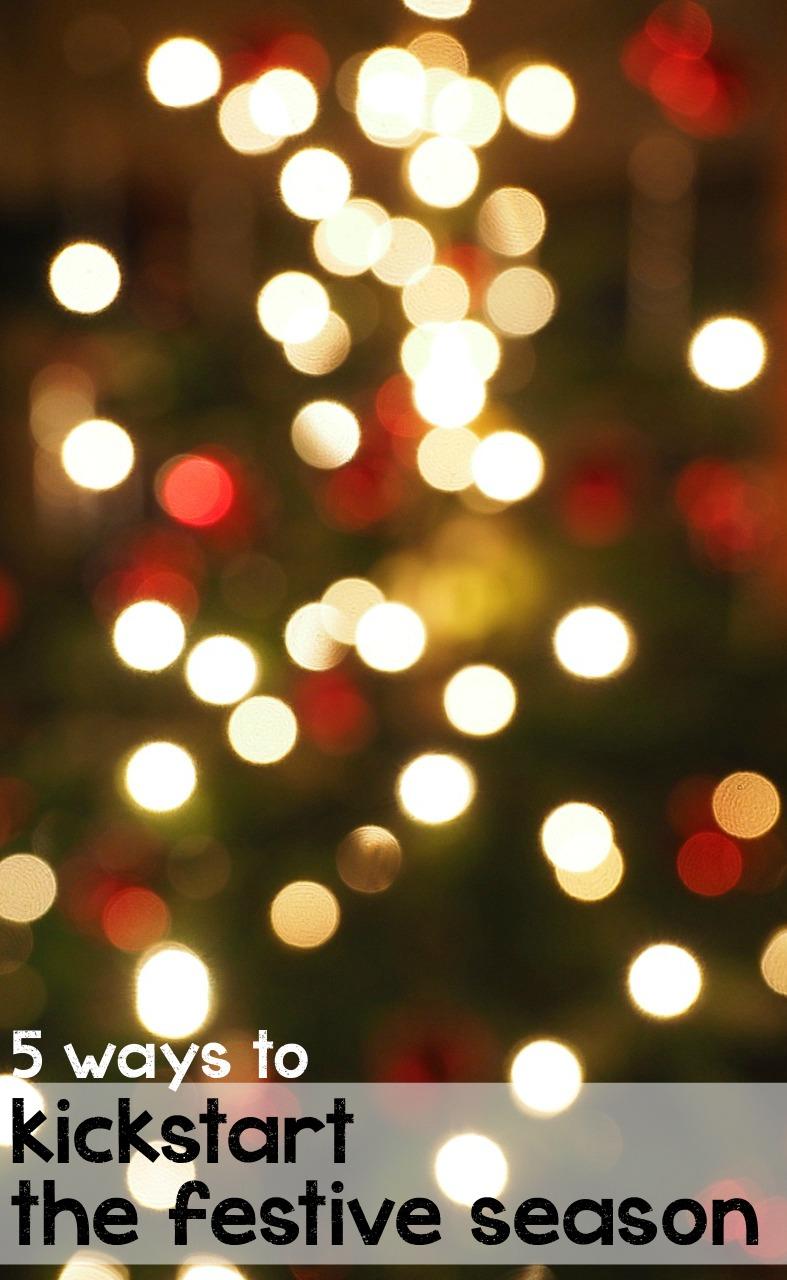 5 fun ways to kickstart the festive season and get some Christmas spirit