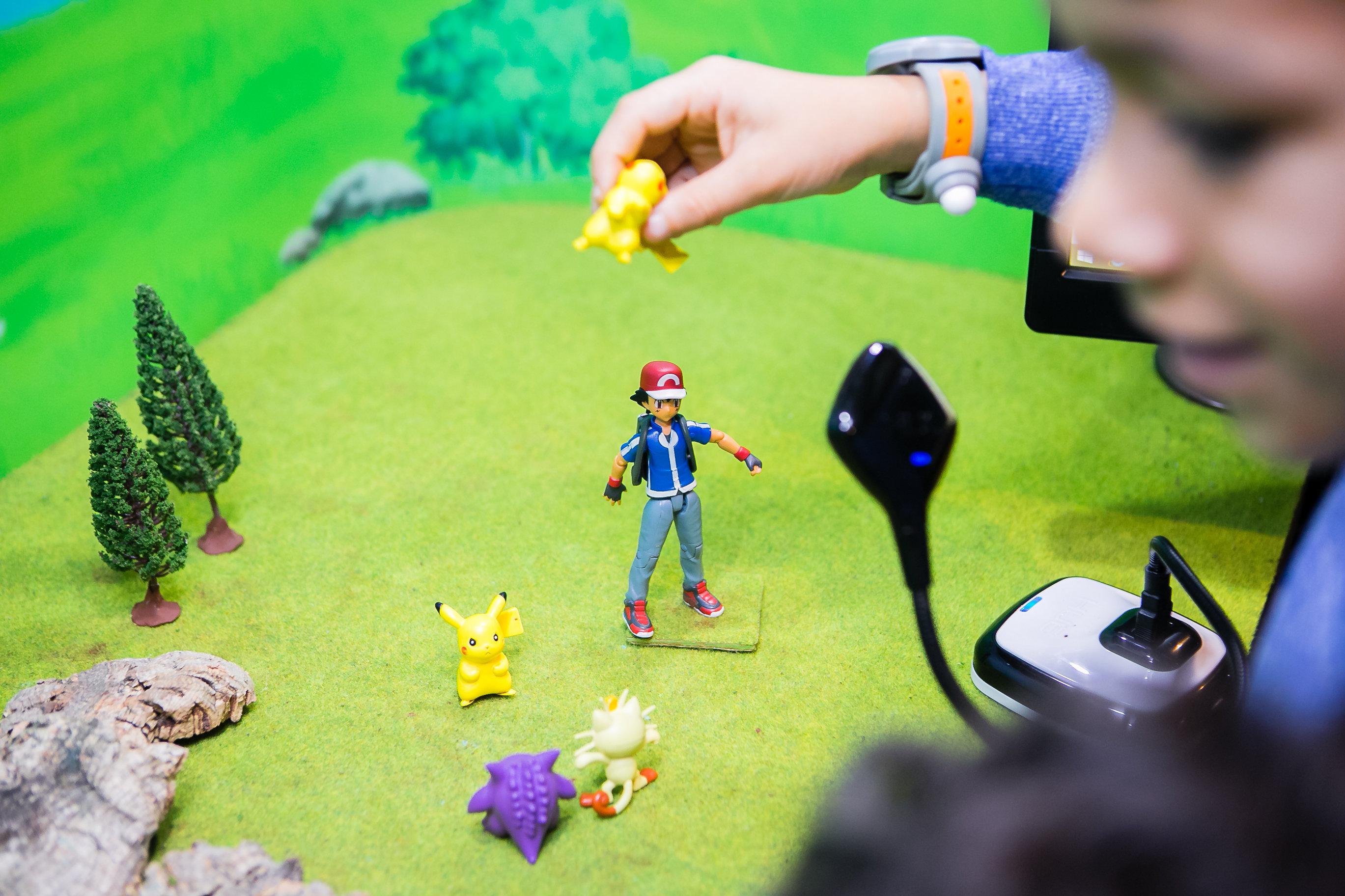 Pokemon Animation Studio at KidZania