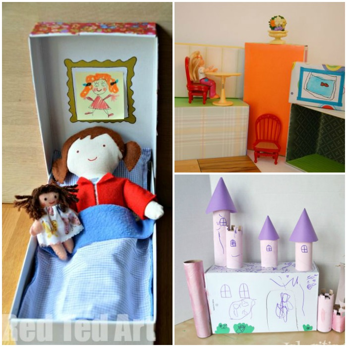 shoe box crafts for dolls
