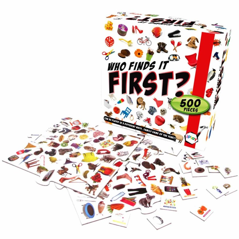 Who finds it first game