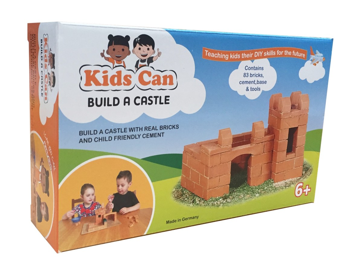 Kids can build a castle
