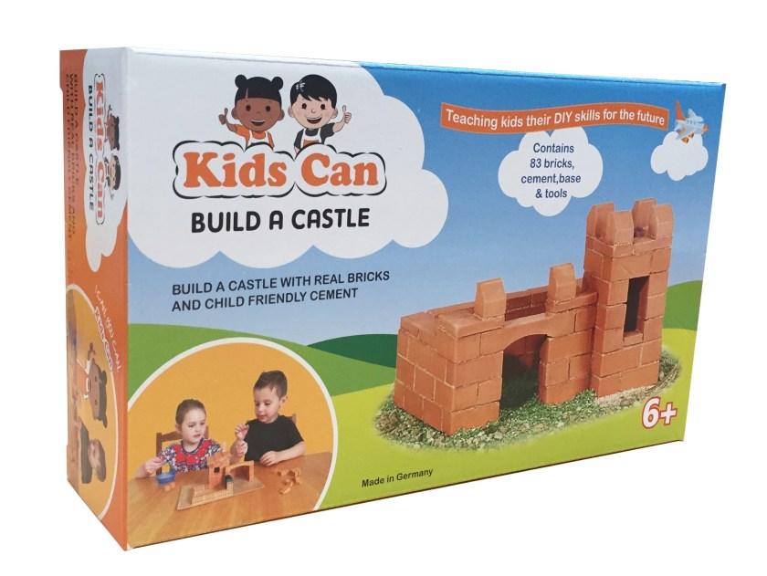 Kids can build a castle